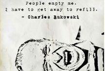 Bukowski / Charles, the one and only, #Bukowski / by Tina Berkmann