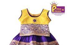 Pattu Pavadai / Traditional pattu pavadai of South India ..Pattu Langa  #kids #choli #pattu #pavadai #girls #silk #traditional #designer #creative #indian #lehenga #kidswear #skirt #trendy #children #clothes #new #stylish #kimi #dresses #partywear #apparel #fashion #readymade #girl