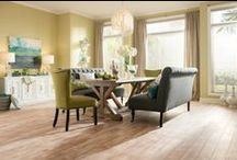 Laminate / Laminate is an affordable, attractive alternative to hardwood flooring.
