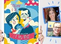 LOJINHA • STORE • PRESENTES / Coleção de pôsteres da lojinha da Borogodó, criados pela ilustradora Clau Souza. O melhor presente ever vem ver! loja.tenhaborogodo.com.br