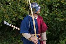 Archery / History archery, England, longbowman, longbow, Rose Mary