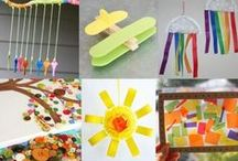 Crafts for Kids / All kind of crafts you can do with kids-- toddlers, preschoolers, and young kids.
