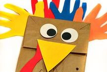Thanksgiving Crafts and Activities / All kind of Thanksgiving-themed crafts and activities for kids.