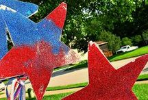 Patriotic Crafts and Activities / Crafts and Activities for kids that relate to patriotic holidays like Memorial Day and 4th of July.