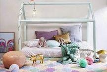 Quarto Meninas / Ideias para decorar o quarto das pequenas.