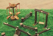 Miniature Playground and Garden