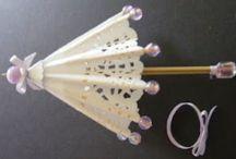 Miniature Umbrellas and Parasolls