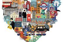 I love London/England