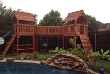 Forts from The Wooden Swing Company!
