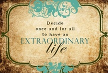 """Be Inspired / """"Do one thing every day that scares you.""""  ― Eleanor Roosevelt"""