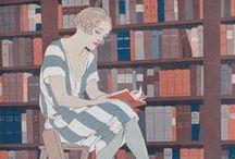 Bibliophilic Fantasies / Literature is my Utopia. - Helen Keller