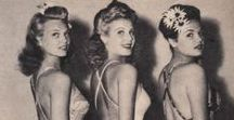 1940s Vintage Style / Gorgeous 1940s period style, for inspiration and research.
