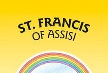 St Francis of Assisi and Franciscan Saints Products / A selection of some of our most popular items for St. Francis of Assisi, and other Franciscan Saints, including books, posters, banners, lectern frontals, crucifixes, and bookmarks. Born 1181-82 - 1226 St. Francis was an Italian Catholic friar and preacher. Though he was never ordained to the Catholic priesthood, St Francis is one of the most venerated religious figures in history.