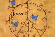 Peace / Peace on earth, goodwill to men... Luke 2:14