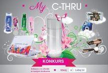 'My C-thru' wyróżnione butelki / Na tej tablicy umieszczamy butelki, które wyróżniliśmy w konkursie My C-thru