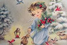 """Vintage Christmas / """"I will honour Christmas in my heart, and try to keep it all the year.""""  Charles Dickens"""