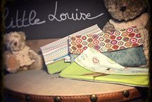 little Louise / Créations d'accessoires en tissus, vinyle, simili cuir. Faits mains
