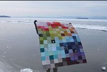 Modern Quilt Inspiration / by Cathy Lohwater