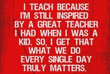 """Teachers / """"Those who know, do. Those that understand, teach.""""  ― Aristotle"""