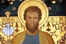 """Saintly Men / """"The lives of the Saints are nothing but the Gospel put into practice."""" St. Francis de Sales"""