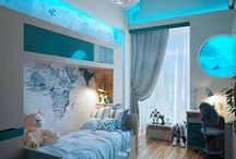 Teenage Bedroom Inspiration / Funky and Inspirational ideas for your Teenager's bedroom