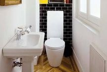 Toilet Room Inspiration / Having a separate toilet room can help simplify family life. But don't make it feel unloved. Lighting can be the ideal way to jazz up the space!