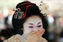Geisha, Geiko and Maiko / The stunning beauty of geisha, geiko and maiko in Japan.  The kimono and traditions of the flower and willow world. Also Oiran who are now actresses playing a role for ceremonial occasions. / by Aussie Travellers