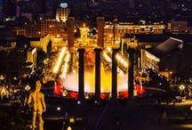 Barcelona de nit / de noche/ by night