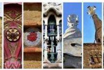Antoni Gaudí - Works / Obres  / Obras / http://ves.cat/l_op   #Parkguell  #Unesco