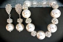 Wedding Day Jewelery / Diamonds and Pearls . . .