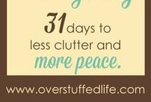 A Place for Everything: 31 Days to Less Clutter and More Peace / Post series by overstuffed.com and Lara, who organizes her home for real and gives us perfect tips!  Σειρά άρθρων από το overstuffedlife.com και τη Lara, που εφαρμόζει στο σπίτι της όλα τα tips για να ξεκαθαρίσουμε μια και καλή ό,τι δε χρειαζόμαστε και να βάλουμε τα πάντα στη σωστή τους θέση!