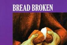 Lent / Easter - Bread Broken by Sr. Mary Stephen CRSS - Posters, Book, DVD / Bread Broken : Journey Through the Cross by Sr. Mary Stephen CRSS - available as individual posters, 20 poster set, DVD and book. The 'Bread Broken' book includes reflections by David Konstant to accompany 20 full colour illustrations of the Stations of the Cross by Sr. Mary Stephen CRSS.