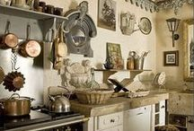 French Kitchens / Beautiful kitchens from France