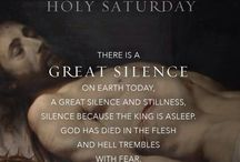 Easter Triduum - Maundy Thursday, Good Friday, Easter Vigil / Images, quotes, useful links and information about the Triduum : Maundy Thursday, Good Friday, and the Easter Vigil.