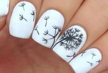 Nail art /  Work of art that can be seen with a nail