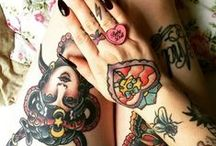 Tatts / stylish ladies with great works of art