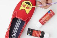 DIY: Schuh (Makeover) / alles rund ums Lieblingsaccessoire: Schuhe; DIY Schuhe, Schuh-Makeover,
