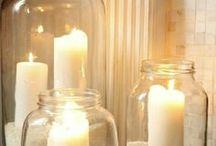DIY: Windlichter, Laternen / Kerzen, Laterne, Hängekerzen, Windlicht, Latern, Kerzenlicht