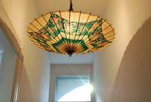 DIY: Licht & Lampen / Licht, Lampe, Ausleuchten, Selbstgemachte Lampe, Licht basteln, Lampenschirm, Lampenfassung, Beleuchtung, Wohnungsbeleuchtung, Wohnzimmerlicht, Neonlampen,