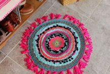 DIY: Teppiche / Teppiche, Selbst machen, Teppich knüpfen, Teppichknoten, Knoten, Carpet, DIY, Teppich basteln, Teppich weben, weben