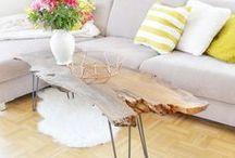 DIY: (Beistell-) Tische / Tisch, Beistelltisch, Couchtisch, Sofatisch, Coffeetable, Table