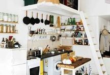 Wohnen: Leben auf kleinem Raum / Ideen kleine Wohnungen, Zimmer oder Häuser optimal einzurichten; platzsparendes Interieur Design