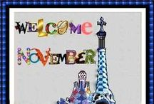 Months...mesos...meses / welcomes...