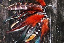 plumas: etéreas, mágicas