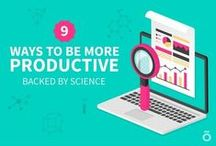 Productivity / Tips and advise on how to be more productive