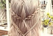 Inspiration: Haare / Hair, alles rund ums Haar, geflochtene Zöpfe, Frisuren, Haarpracht