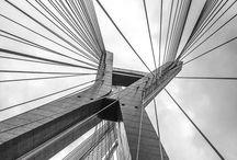São Paulo | Ponte Estaiada / São Paulo branco e preto, ponte estaiada. #ponte #saopaulo #blackandwhite #brancoepretofotografia