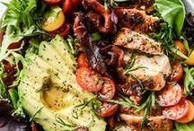 DIY Cooking: Salate / DIY Kochen, Salate, Sommeressen, Sommersalat, kalte Speisen, Beilagensalat, Nudelsalat, Gemüse,