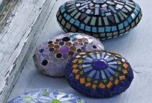 Mosaics / UNDER CONSTRUCTION (See separate boards for Windchimes & Rock Crafts) / by Patricia B