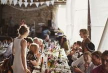 Inspiration: Gather  / Parties, shindigs, picnics, potlucks, happy times with friends and family gathered around the table